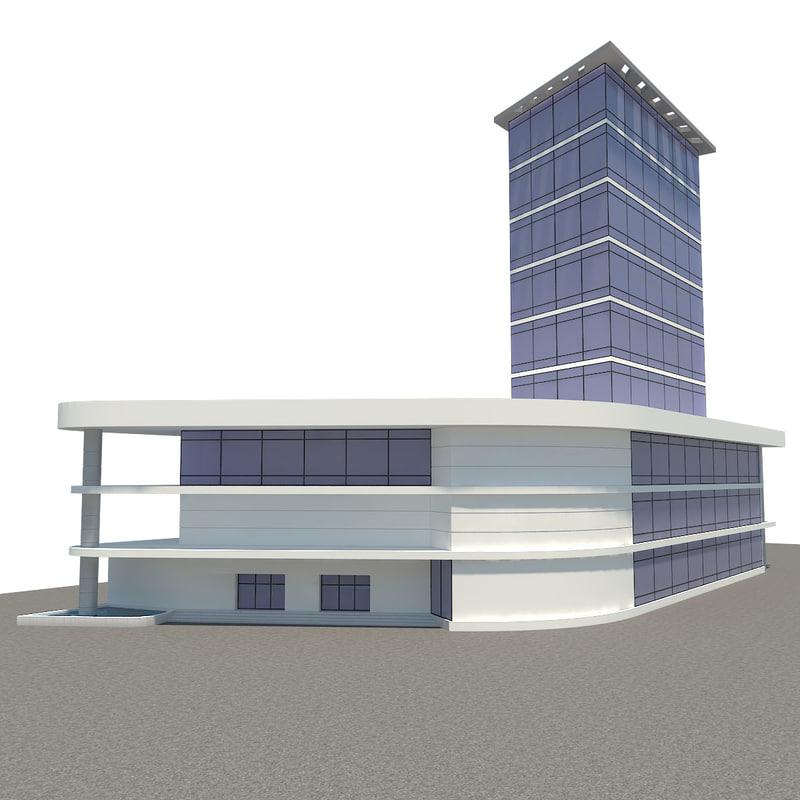 commercial building 3ds