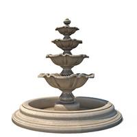 fountain classic 3d max
