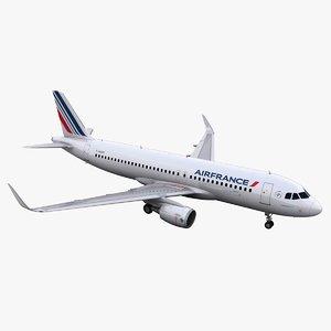 3d a320 air france