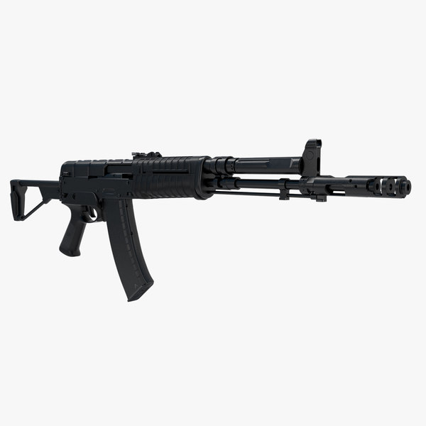 assault rifle aek 971 3d model