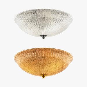3d model zucche lightstar ceiling lamp