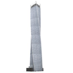 cayan tower 3d model