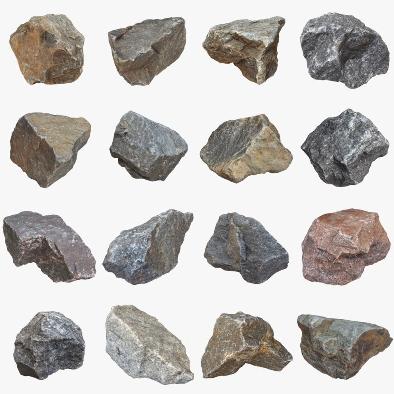 3d pack stone