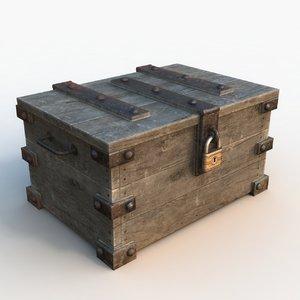 3d ready treasure chest 02