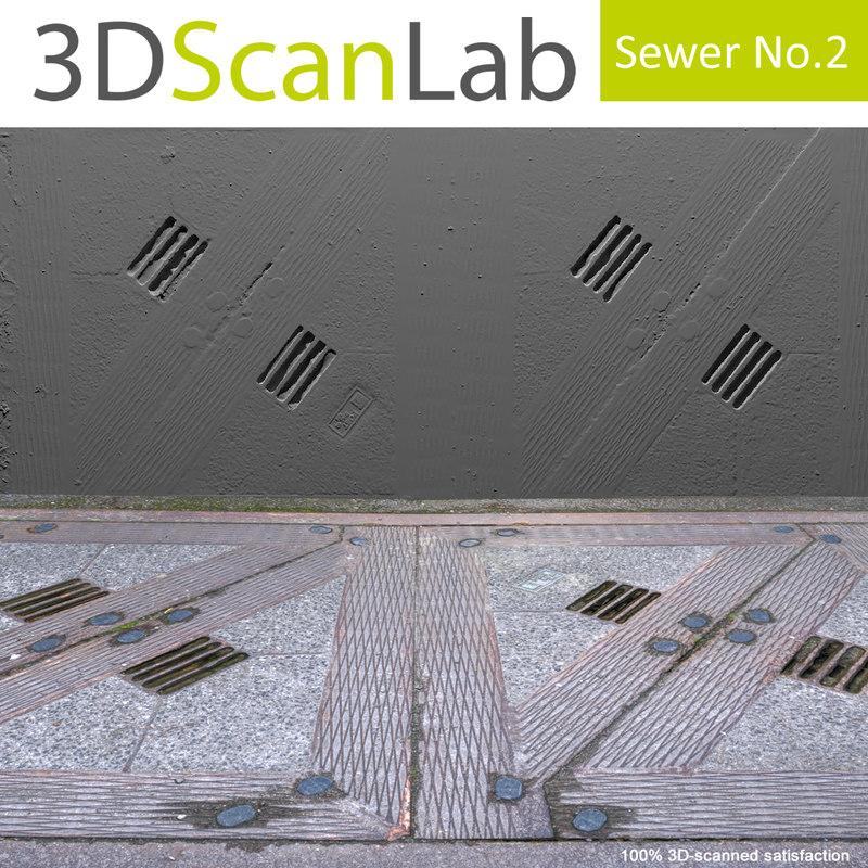 obj scanned sewer 2