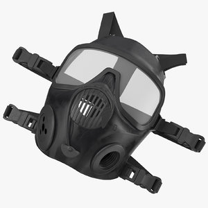 3d model police riot gear gas