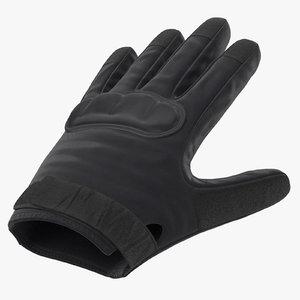 max police riot gear glove