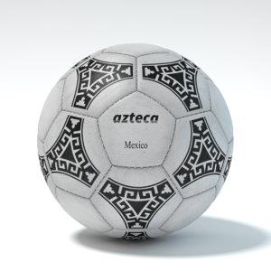 blender soccerball azteca 3d model