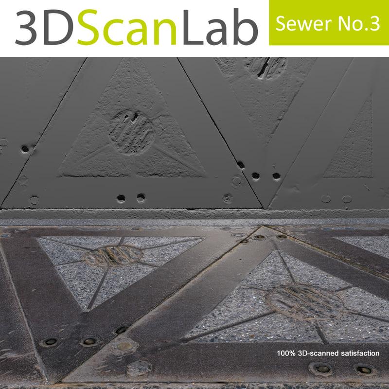 scanned sewer 3 obj
