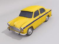 ambassador classic 3d model