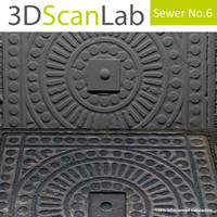 scanned sewer 6 3d model