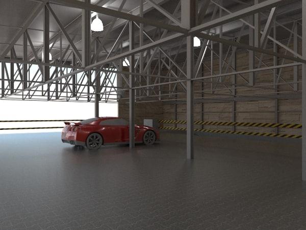Mechanic Shop 3D Models for Download | TurboSquid