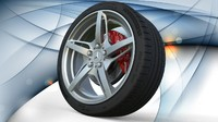 3d wheel mercedes benz amg