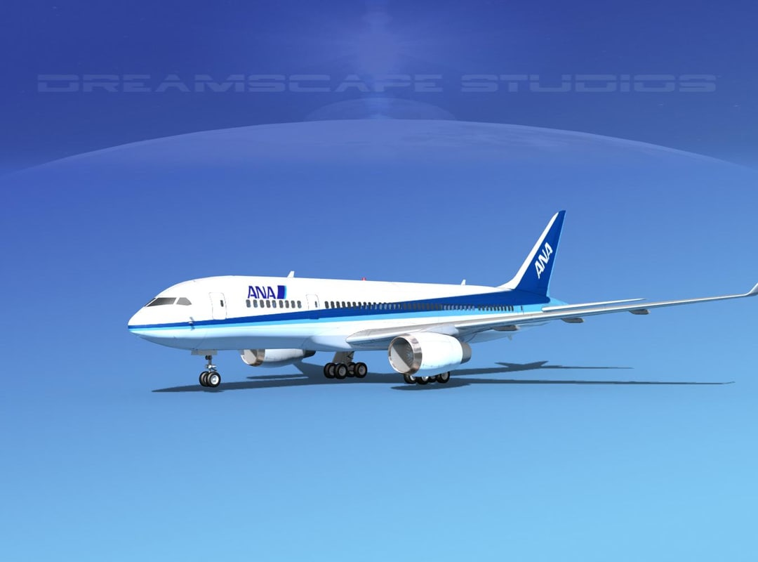 airline boeing 787-8 787 3d dxf