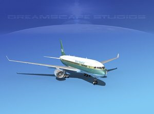 airline boeing 787-8 787 3d obj
