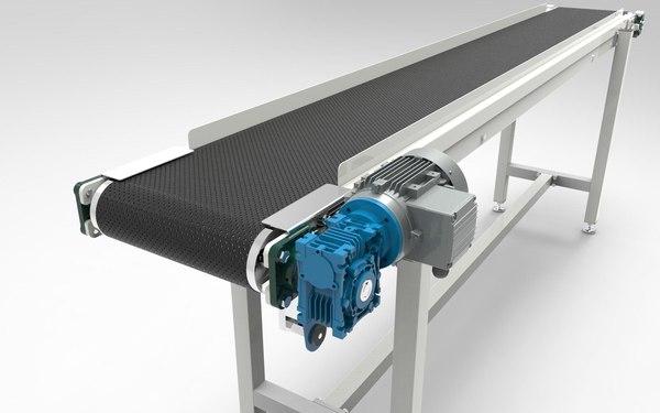 3d model conveyor