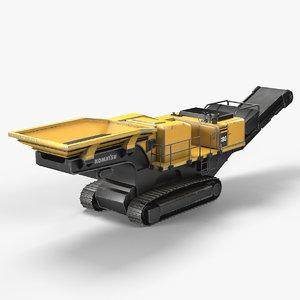 3d power crusher model