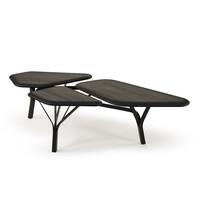 borghese coffee table 3d obj
