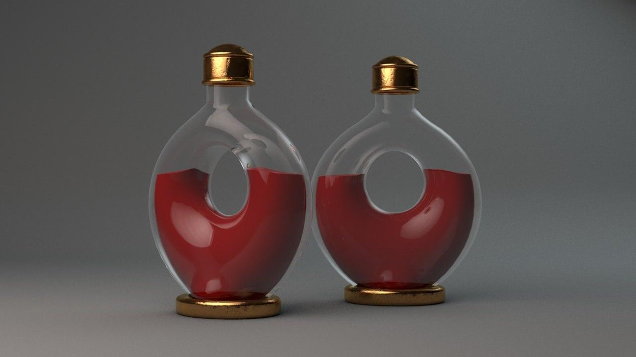 healing potion superior c4d