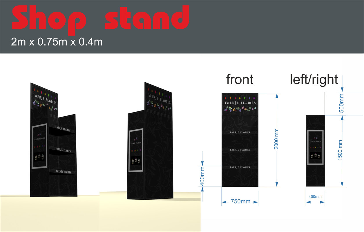 max shop stand