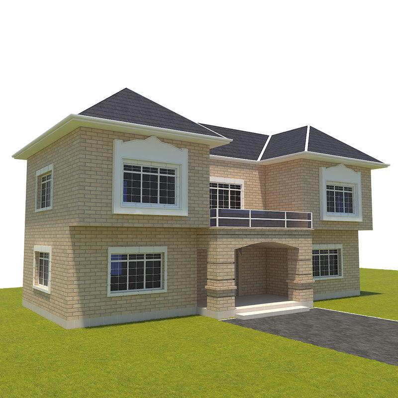 villa small 3d model