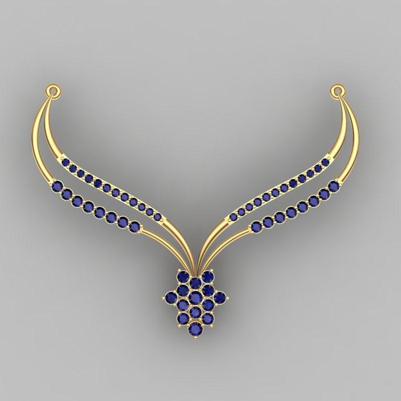 pendant necklacependant 3ds