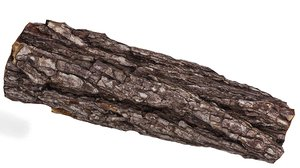 3d obj tree bark
