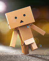 3d model danbo rigged -