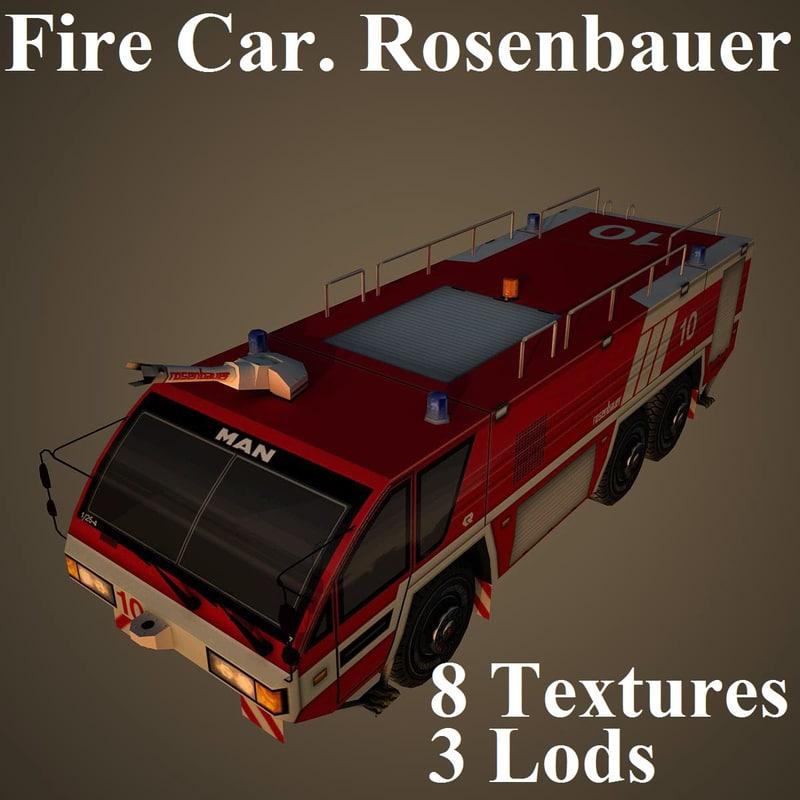 3d car rosenbauer