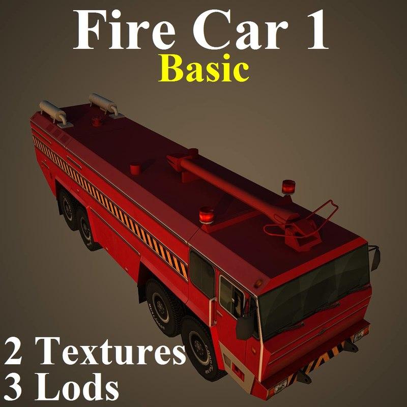 car basic 3d max