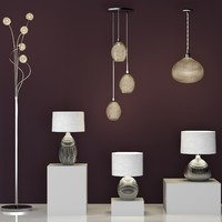 glamour table lamp 3d max