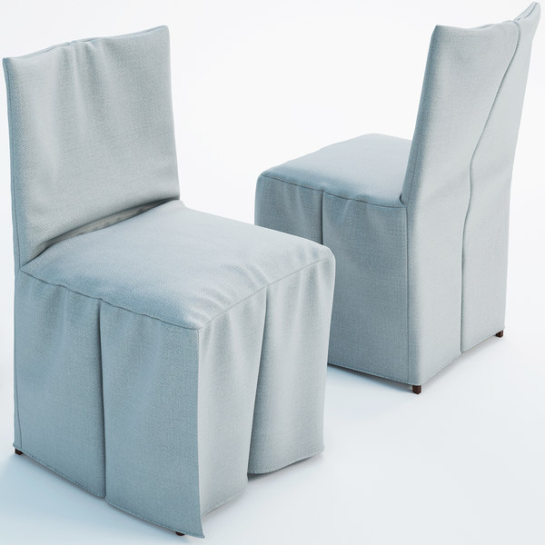 3d model chair cover