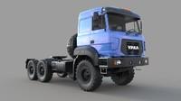 truck ural m 3d fbx
