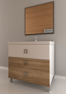 3d model of console table