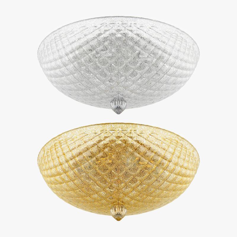 3d murano lightstar ceiling lamp model