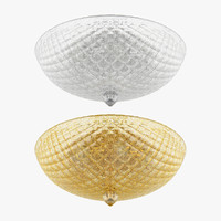 3d murano lightstar ceiling lamp model