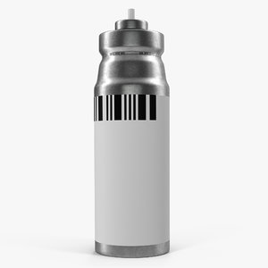 3d model throat spray inhaler