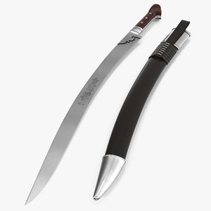 turkish yatagan sword sheath max