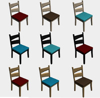 chair modern style seat 3ds free