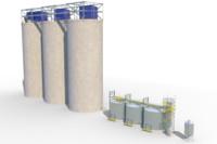 3d model silo