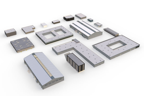 max building industrial set