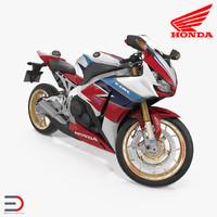 Honda CBR 1000RR Fireblade 2016 Rigged