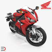 new honda cbr1000rr fireblade 3d model