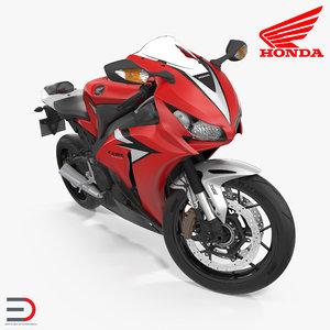 new honda cbr1000rr fireblade 3d model