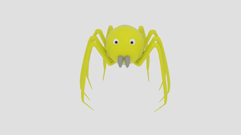 obj sphere spider