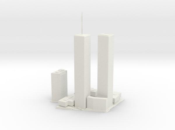 original world trade center 3d model
