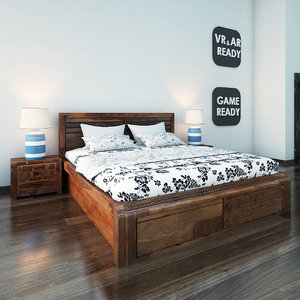 furniture bed games 3d max