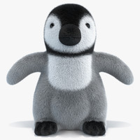 baby penguin plush max