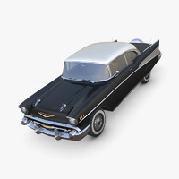chevrolet bel air 1957 3d model