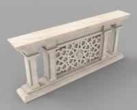 architectural element 3d obj